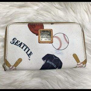 Dooney & Bourke Wallet Seattle Mariners Flawed